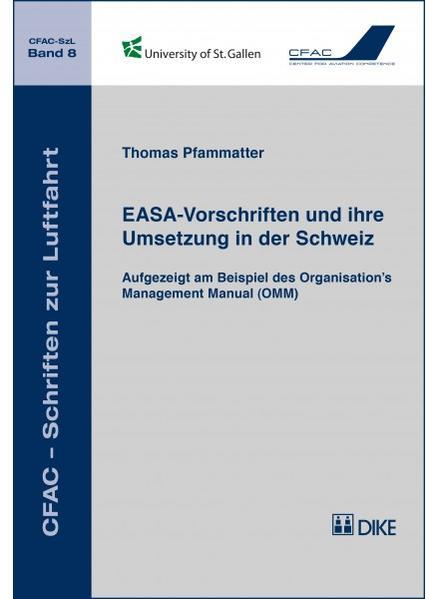 EASA-Vorschriften und ihre Umsetzung in der Schweiz - Coverbild