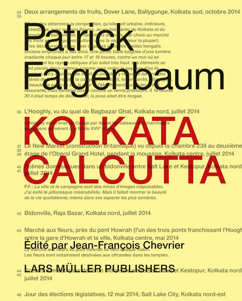 Patrick Faigenbaum Kolkata Calcutta - Coverbild