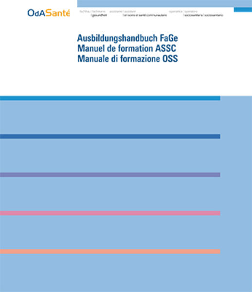 FAGE Ausbildungshandbuch der ODA Santé, Aktualisierung 2011 - Coverbild