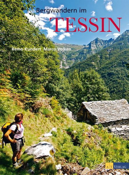 Bergwandern im Tessin - Coverbild