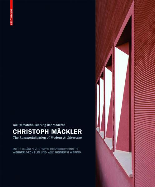 Christoph Mäckler - Coverbild