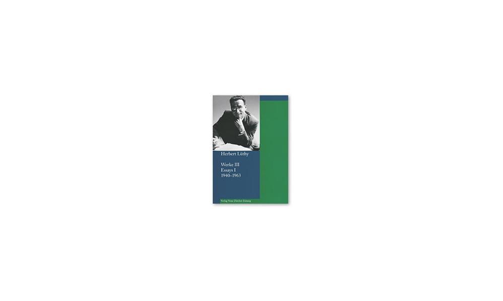 Werke / Werke III - Coverbild