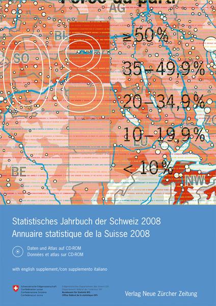 Statistisches Jahrbuch der Schweiz /Annuaire statistique de la Suisse 2008 - Coverbild