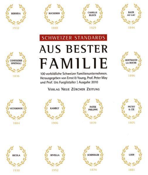 Schweizer Standards - aus bester Familie - Coverbild