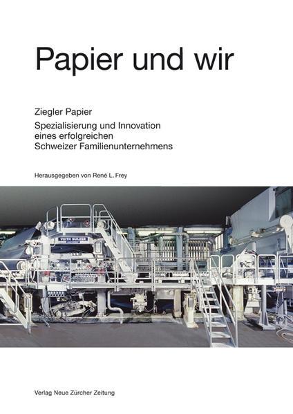 Papier und wir - Coverbild