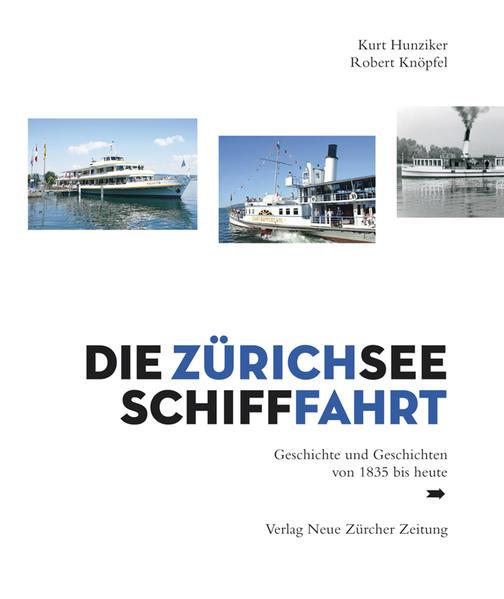 Die Zürichsee-Schifffahrt - Coverbild