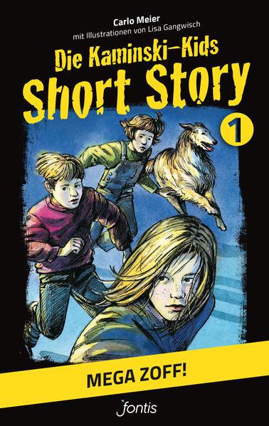 Die Kaminski-Kids: Short Story 1. Mega Zoff! - Coverbild