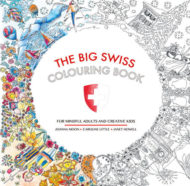 The Big Swiss Colouring Book - Coverbild