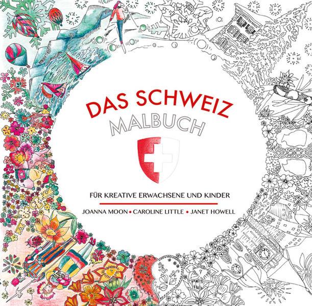 Das Schweiz-Malbuch - Coverbild