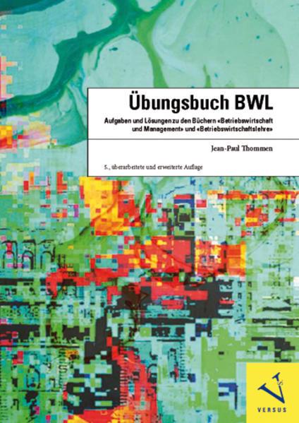 Übungsbuch BWL - Coverbild