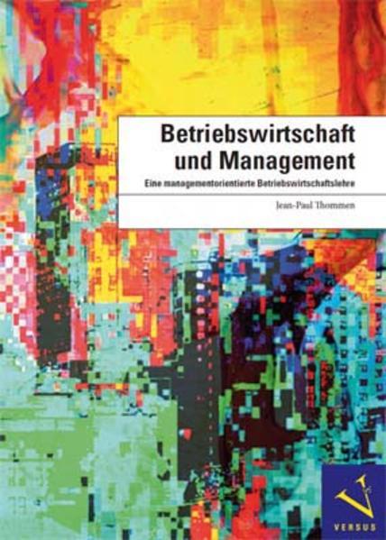 Betriebswirtschaft und Management - Coverbild