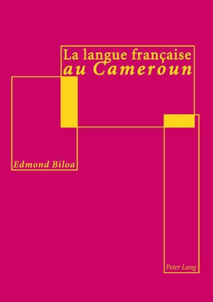 La langue française au Cameroun - Coverbild