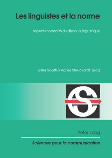 Les linguistes et la norme - Coverbild