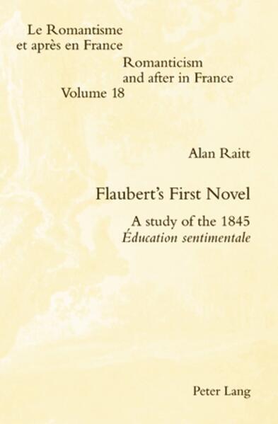 Flaubert's First Novel - Coverbild