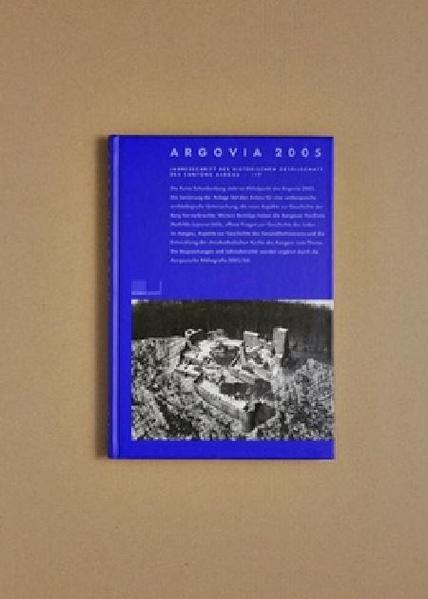 Argovia. Jahresschrift der Historischen Gesellschaft des Kantons Aargau - Coverbild