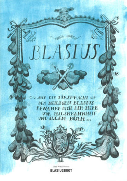 Sonntagsfreuden. Hefte 1-12 / Sonntagsfreuden Nr. 8: Blasiusbrot - Coverbild