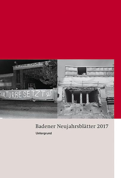 Badener Neujahrsblätter 2017 - Coverbild