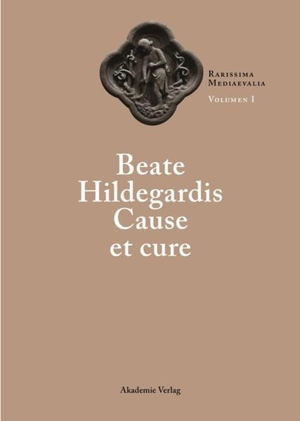 Beate Hildegardis Cause et cure - Coverbild