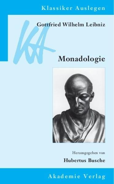 Gottfried Wilhelm Leibniz: Monadologie - Coverbild