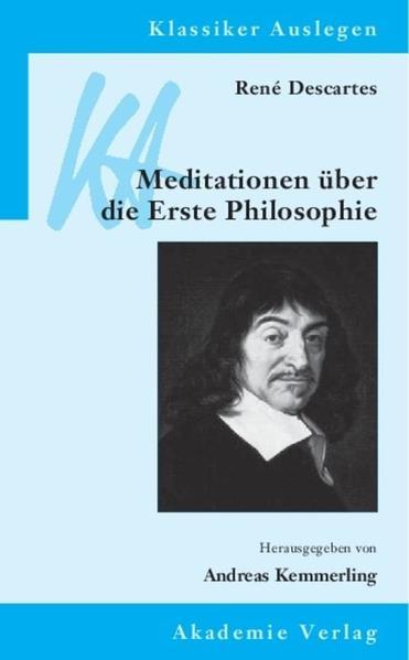 René Descartes: Meditationen über die Erste Philosophie - Coverbild