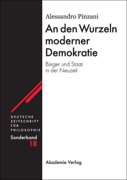 An den Wurzeln moderner Demokratie - Coverbild