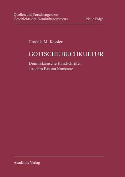 Gotische Buchkultur - Coverbild