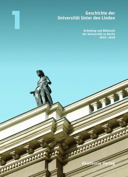 Geschichte der Universität Unter den Linden - Coverbild