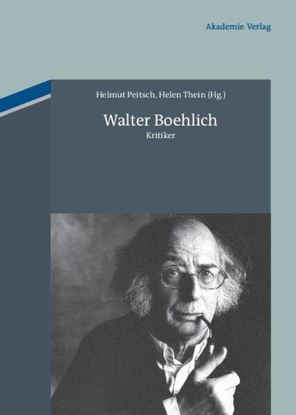 Walter Boehlich - Coverbild
