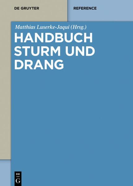Handbuch Sturm und Drang - Coverbild