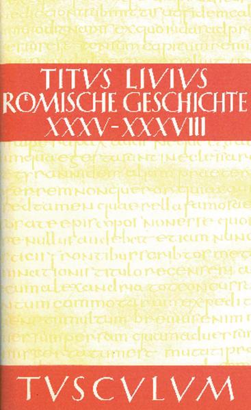 Titus Livius: Römische Geschichte / Buch 35-38 - Coverbild