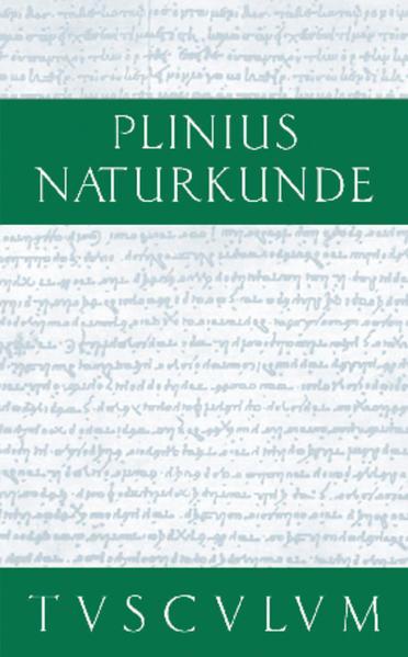 Cajus Plinius Secundus d. Ä.: Naturkunde / Naturalis historia  libri XXXVII / Farben. Malerei. Plastik - Coverbild