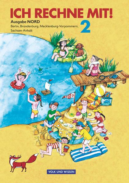 Ich rechne mit! - Berlin, Brandenburg, Mecklenburg-Vorpommern, Sachsen-Anhalt / 2. Schuljahr - Schülerbuch mit Kartonbeilagen - Coverbild