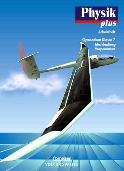 Physik plus - Gymnasium Mecklenburg-Vorpommern / 7. Schuljahr - Arbeitsheft - Coverbild