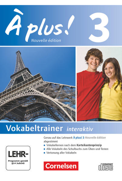 À plus! - Nouvelle édition / Band 3 - Vokabeltrainer - Coverbild