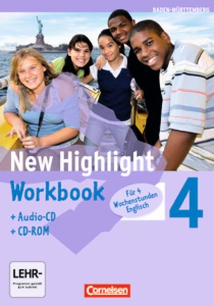 New Highlight - Baden-Württemberg / Band 4: 8. Schuljahr - Werkrealschulen (4 Wochenstunden) - Coverbild