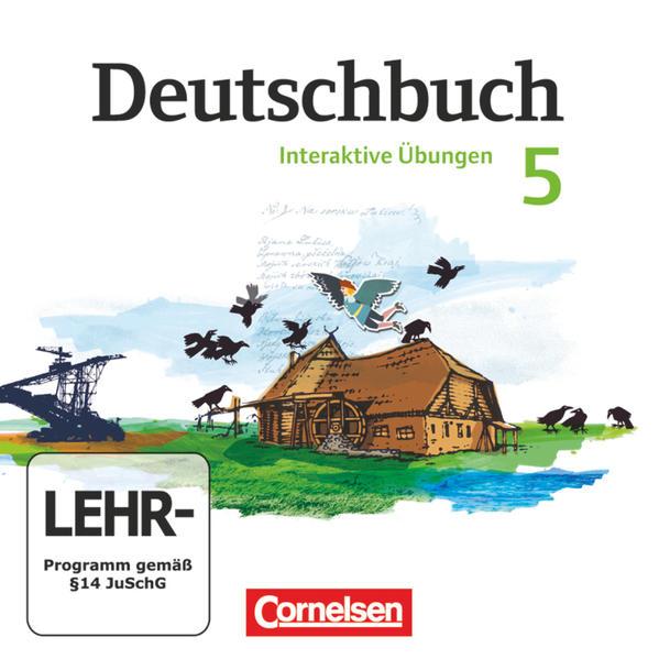 Deutschbuch Gymnasium - Östliche Bundesländer und Berlin / 5. Schuljahr - Übungs-CD-ROM zum Arbeitsheft - Coverbild
