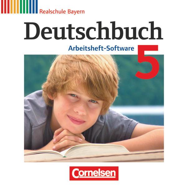 Deutschbuch - Realschule Bayern / 5. Jahrgangsstufe - Übungs-CD-ROM zum Arbeitsheft - Coverbild
