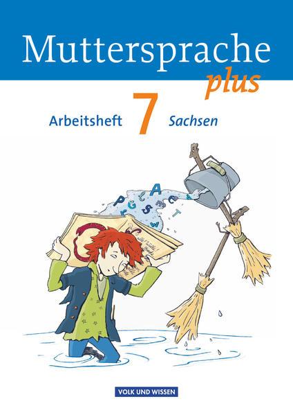 Muttersprache plus - Sachsen / 7. Schuljahr - Arbeitsheft - Coverbild