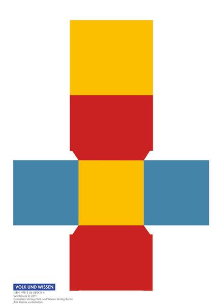 Mathefreunde - Nord/Süd - alle bisherigen Ausgaben / 4. Schuljahr - Würfelnetz - Coverbild