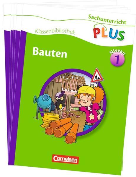 Sachunterricht plus - Grundschule - Klassenbibliothek / Bauten - Coverbild