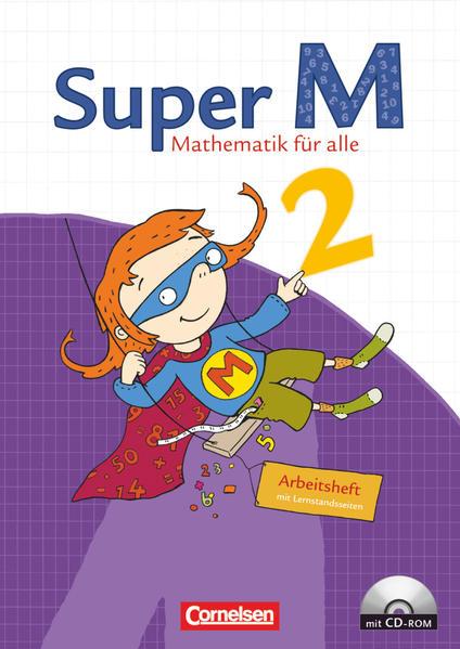Super M - Östliche Bundesländer und Berlin / 2. Schuljahr - Arbeitsheft mit CD-ROM - Coverbild