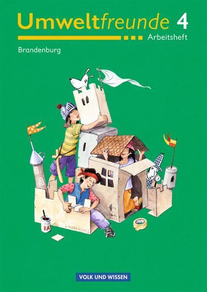 Umweltfreunde - Brandenburg - Alte Ausgabe / 4. Schuljahr - Arbeitsheft - Coverbild