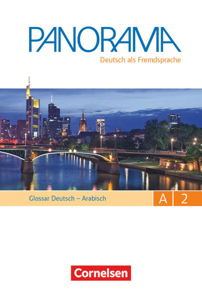 Panorama / A2: Gesamtband - Glossar Deutsch-Arabisch - Coverbild