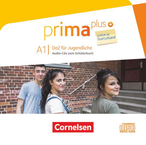 prima plus - Leben in Deutschland / A1 - Audio-CDs zum Schülerbuch - Coverbild