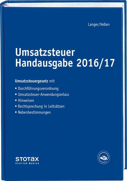 Umsatzsteuer Handausgabe 2016/17 - Coverbild