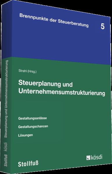 Steuerplanung und Unternehmensumstrukturierung - Coverbild