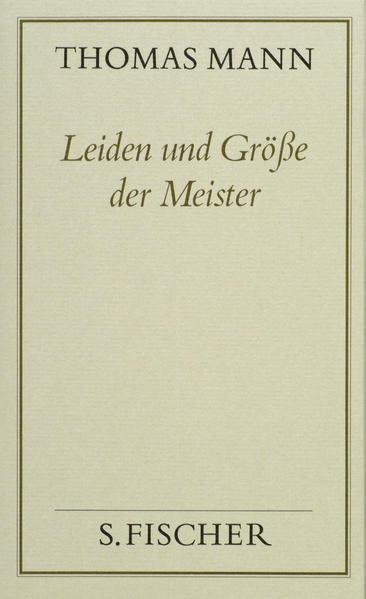 Leiden und Größe der Meister - Coverbild