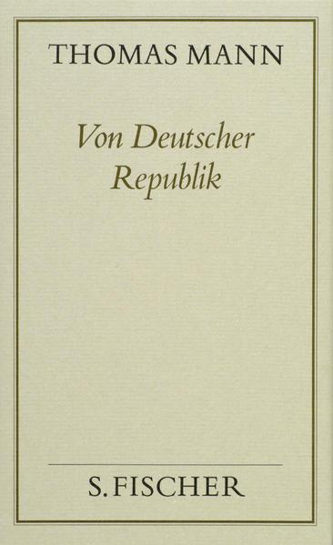 Von Deutscher Republik - Coverbild