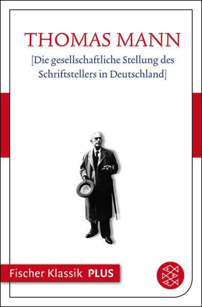 Die gesellschaftliche Stellung des Schriftstellers in Deutschland - Coverbild