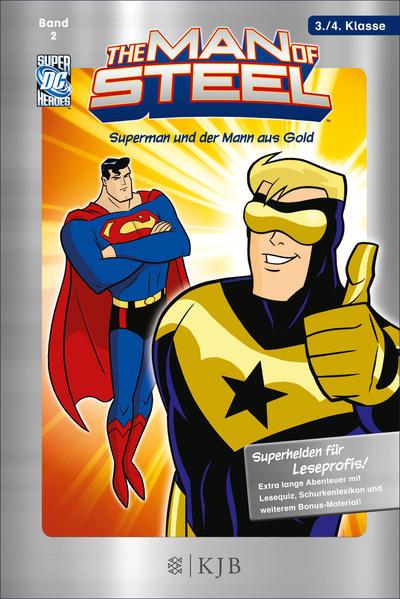 The Man of Steel 02: Superman und der Mann aus Gold - Coverbild